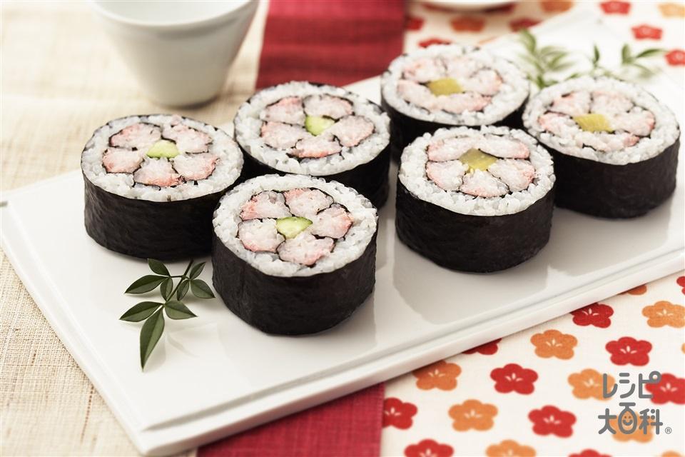 房総の祭りずし(米+きゅうりを使ったレシピ)