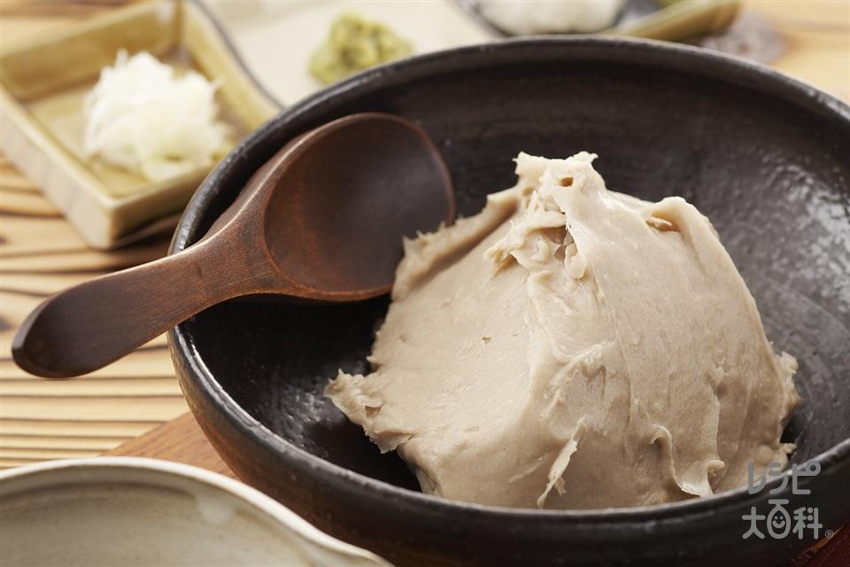 蕎麦がき(そば粉+大根を使ったレシピ)
