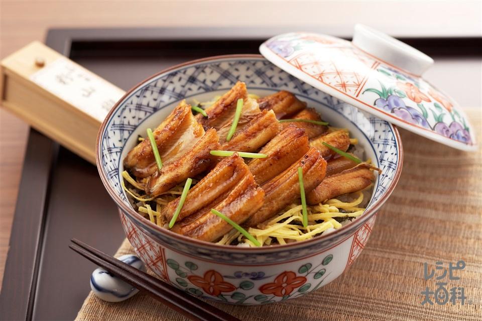 あなご飯(焼きあなご+「ほんだし」を使ったレシピ)