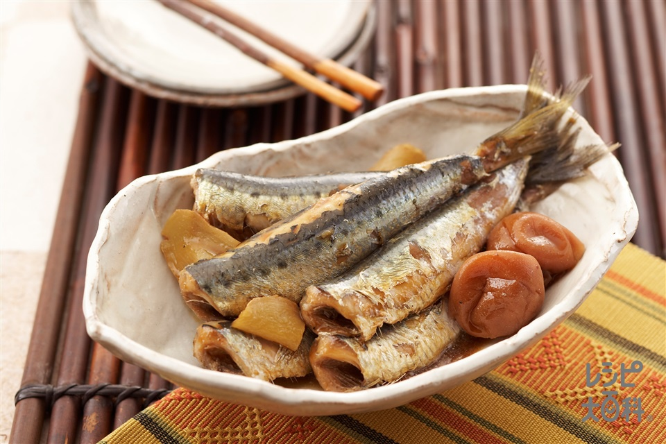 いわしの紀州煮(いわし+梅干しを使ったレシピ)