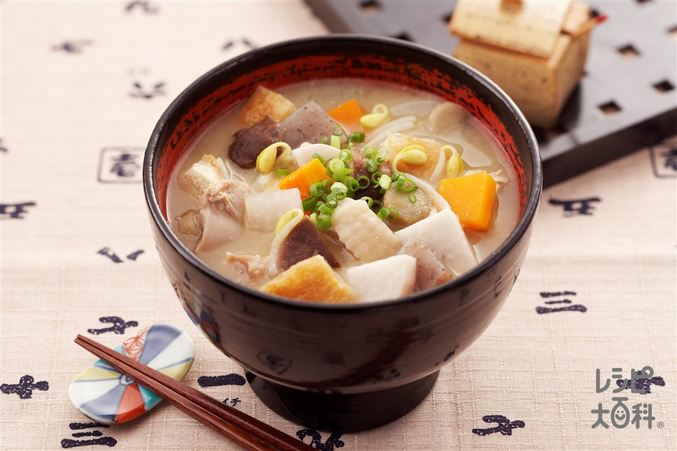 さつま汁(鶏もも肉+こんにゃくを使ったレシピ)