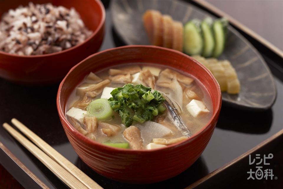 あつめ汁(大根+木綿豆腐を使ったレシピ)