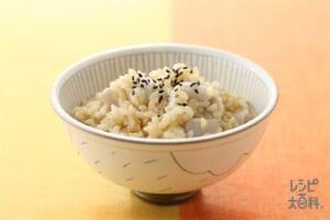里いも入り発芽玄米ご飯