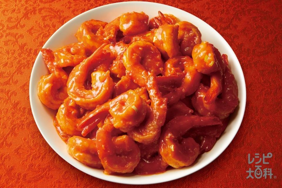 干焼蝦仁(無頭えびを使ったレシピ)