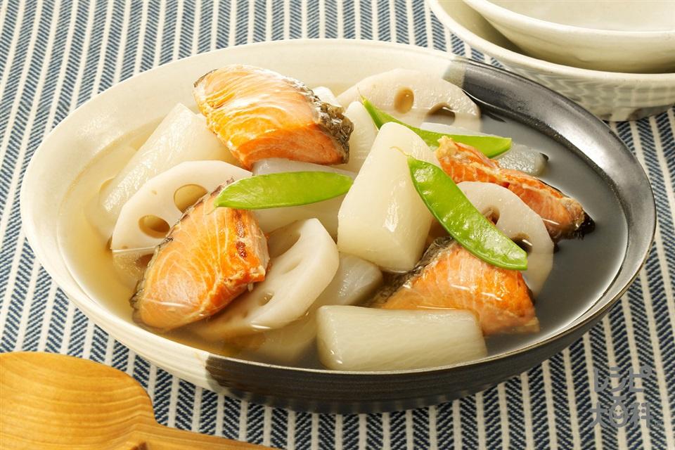 だししみ鮭大根(甘塩ざけ+大根を使ったレシピ)