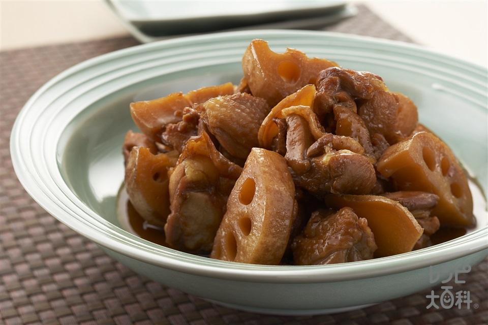 鶏とれんこんの南蛮酢煮