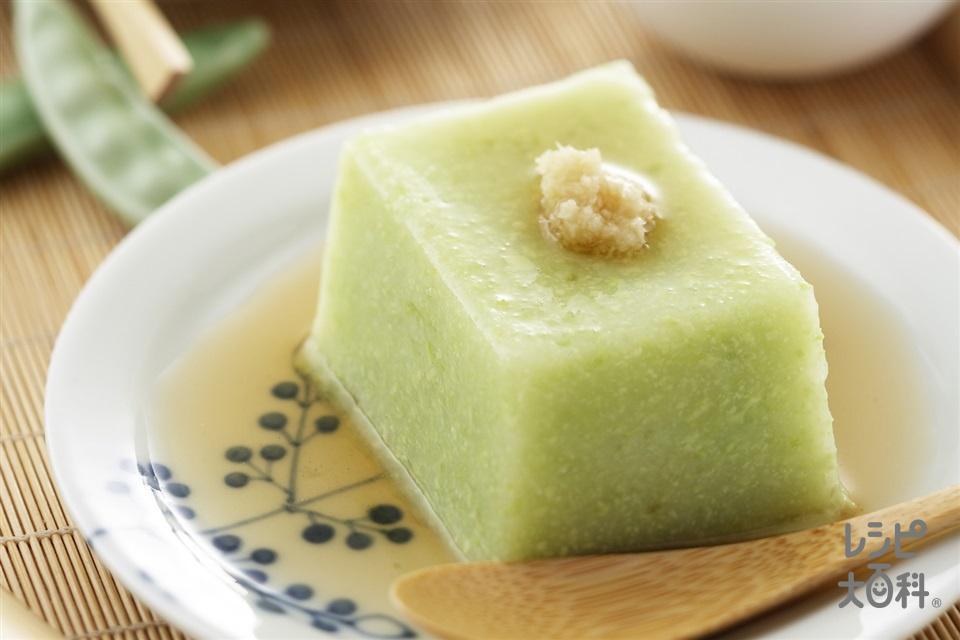 枝豆のくず豆腐(枝豆+くず粉を使ったレシピ)