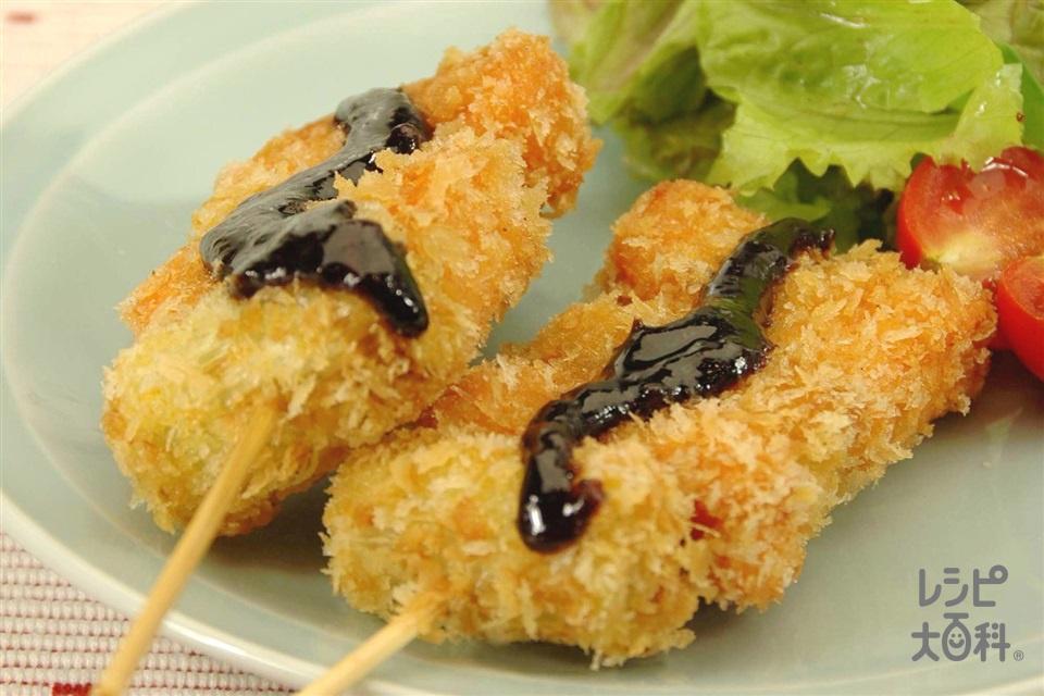 さけのねぎま揚げ チャイナソース(さけ+ねぎを使ったレシピ)