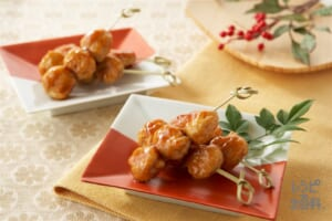 鶏つくね(鶏ひき肉+卵を使ったレシピ)