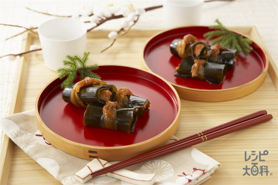 甘塩鮭のこんぶ巻き(昆布+甘塩ざけを使ったレシピ)