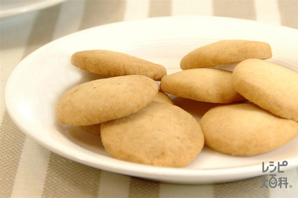 さくさくクッキー(強力粉+すり白ごまを使ったレシピ)