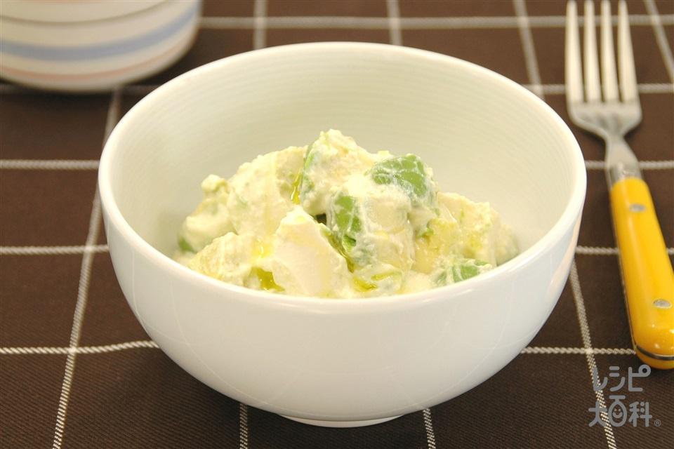 豆腐とアボカドの白あえ(絹ごし豆腐+アボカドを使ったレシピ)