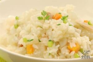 根菜の和風リゾット