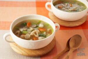 冬野菜のスープ