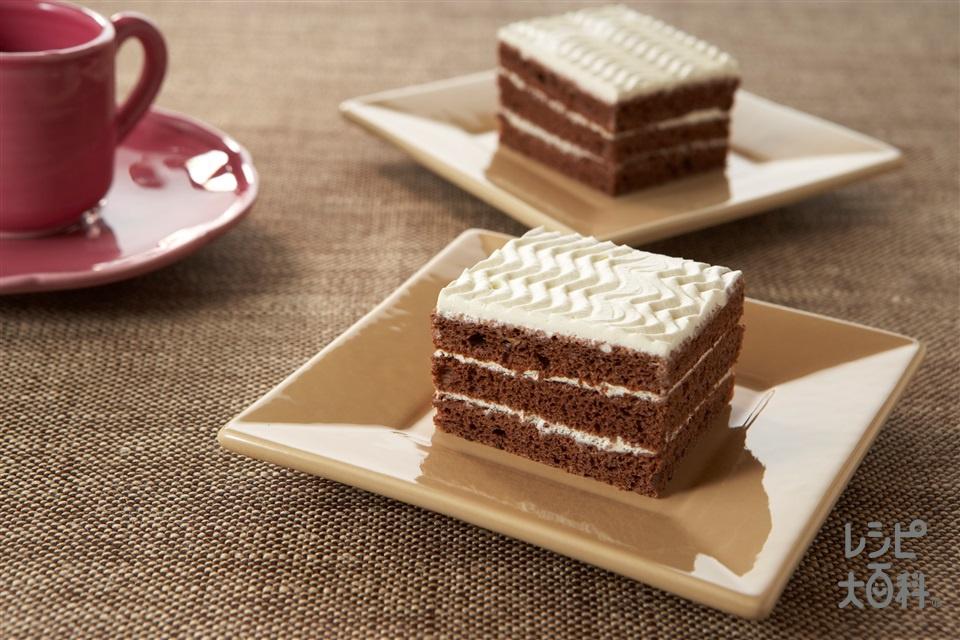 ココアスポンジケーキ