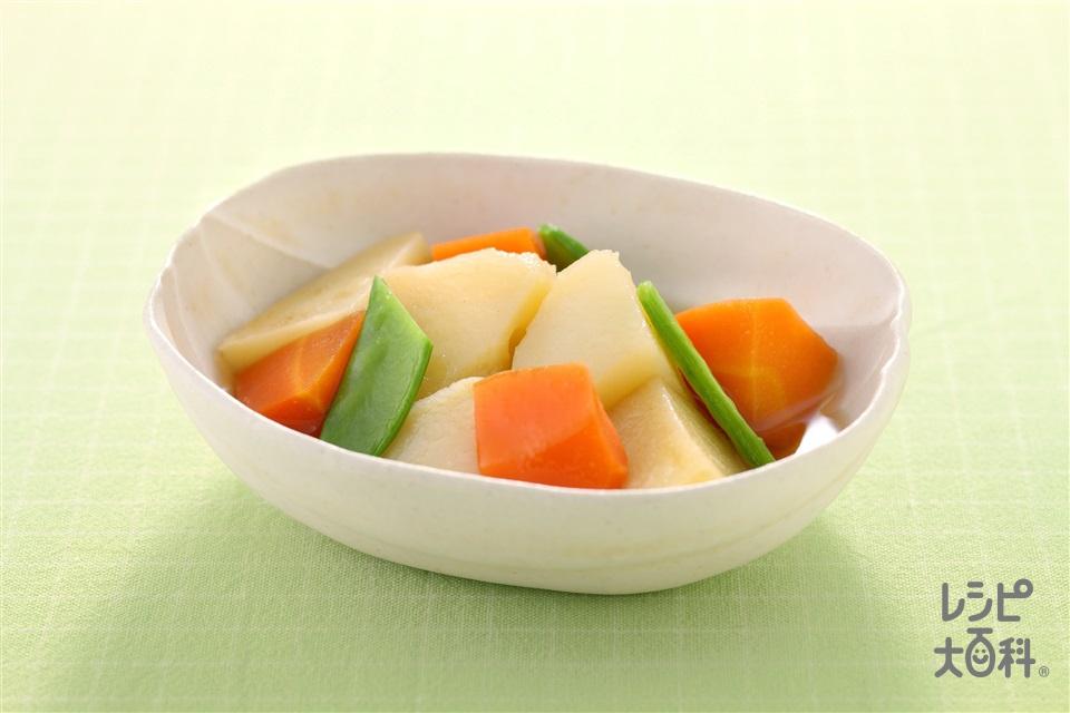 彩り野菜のうま煮(じゃがいも+にんじんを使ったレシピ)