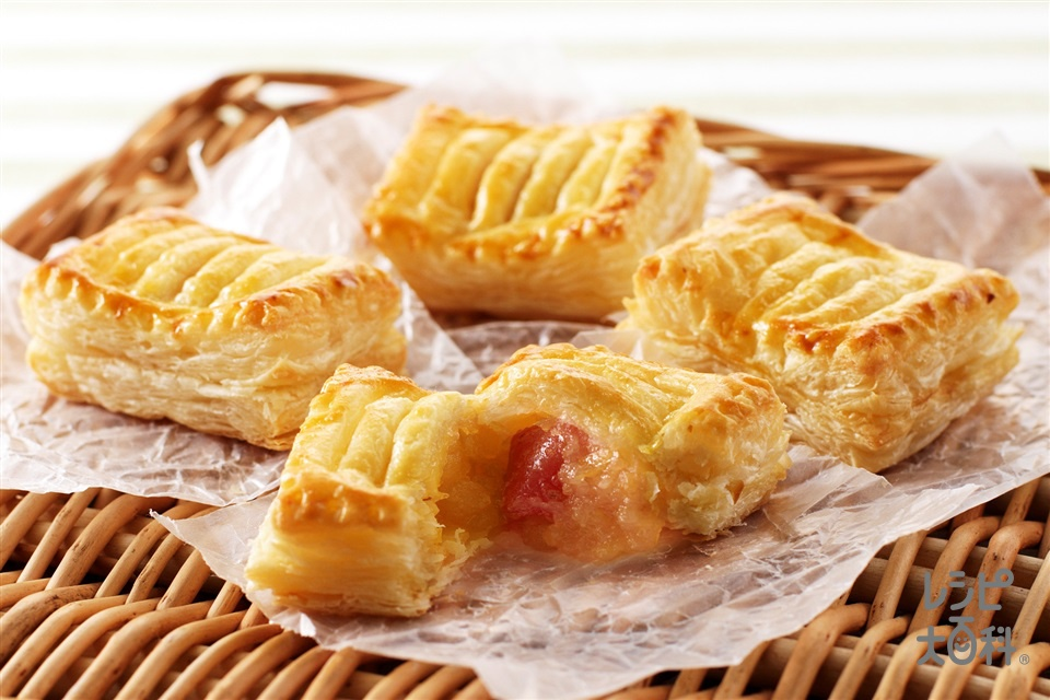 簡単ミニアップルパイ(りんご+卵黄を使ったレシピ)