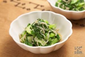 青菜とじゃこの炒め煮