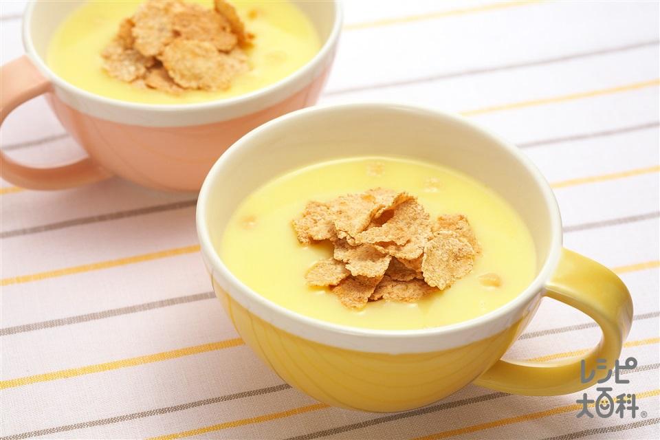 シリアルトッピングカップスープ