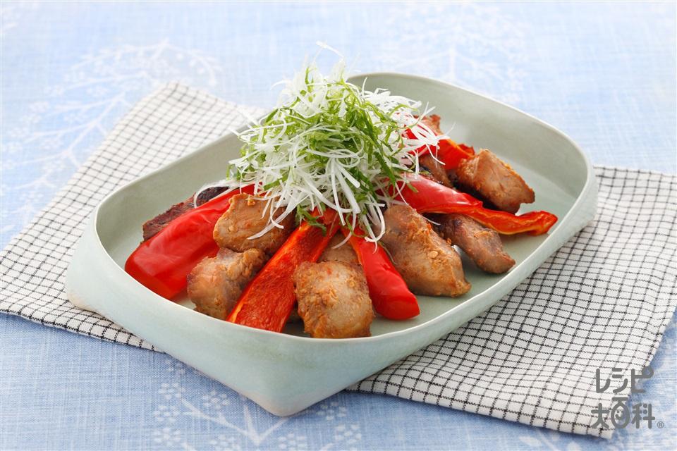 焼きみそ豚(豚もも肉(カレー・シチュー用)+Aしょうがのすりおろしを使ったレシピ)