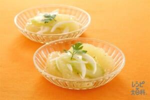 グレープフルーツと野菜のマリネ(グレープフルーツ+セロリを使ったレシピ)