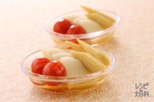 3種野菜のりんご酢ピクルス