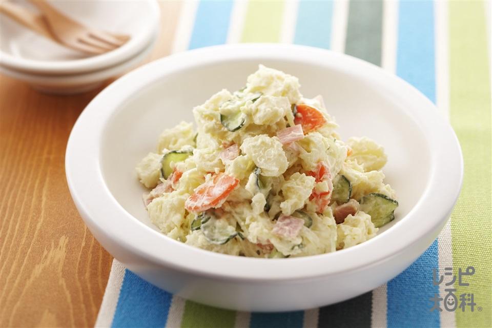 基本のポテトサラダ(じゃがいも+きゅうりを使ったレシピ)