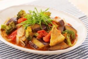 地元野菜でラタ煮(ラタトゥイユ風)