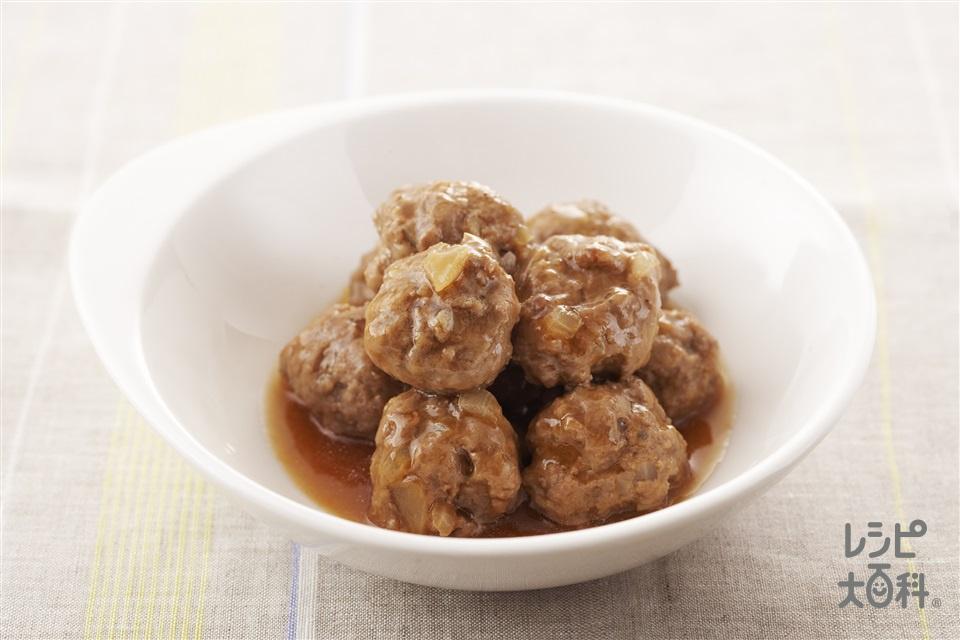 ミートボール(A合いびき肉+A溶き卵を使ったレシピ)