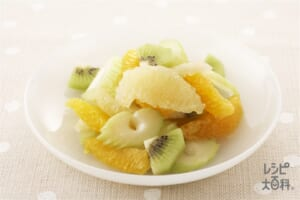 フルーツとセロリのマリネ