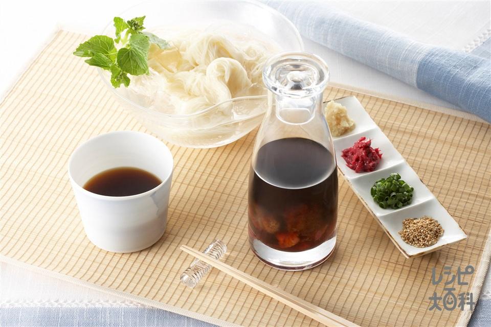 梅しょうゆ(梅干しを使ったレシピ)