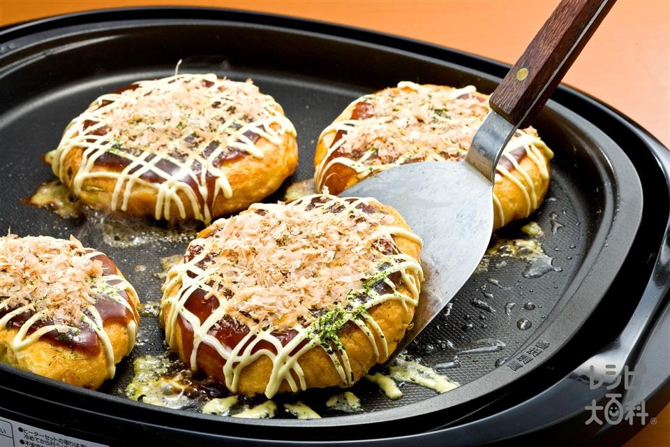 お好み焼き(キャベツ+小麦粉を使ったレシピ)