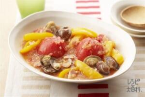 トマトのまるごと煮込み(トマト+玉ねぎを使ったレシピ)