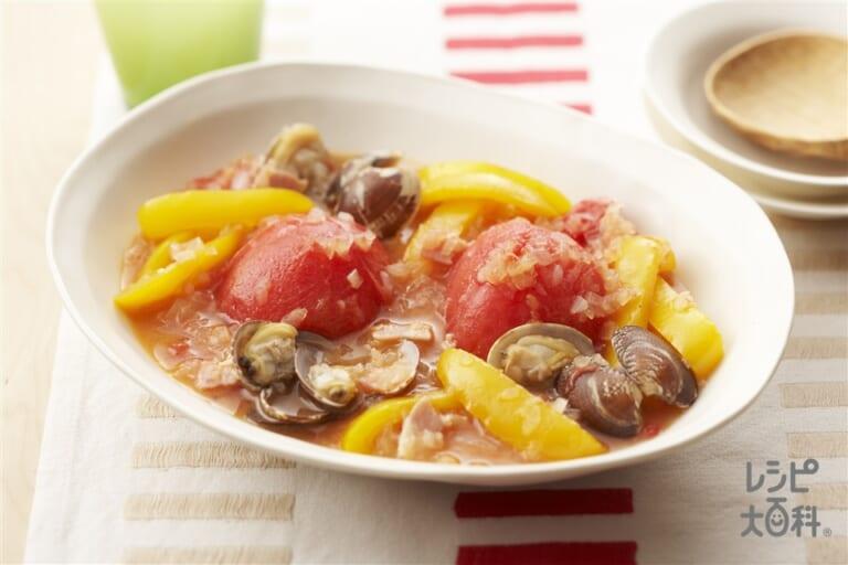 トマトのまるごと煮込み