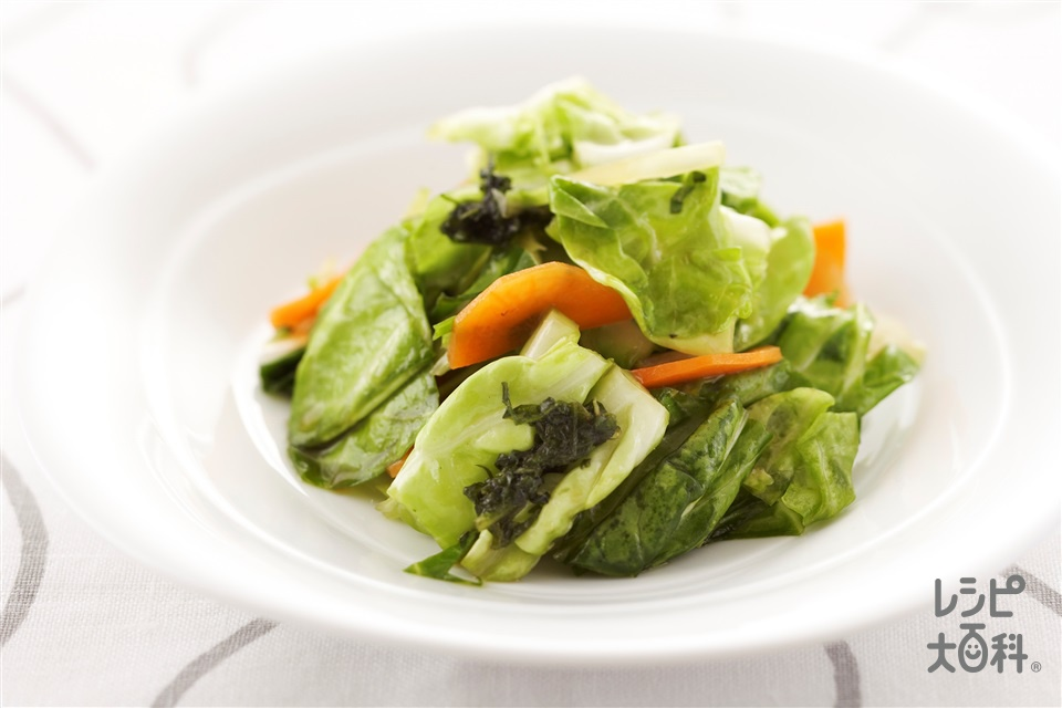 野菜のもみ漬け(キャベツ+にんじんを使ったレシピ)