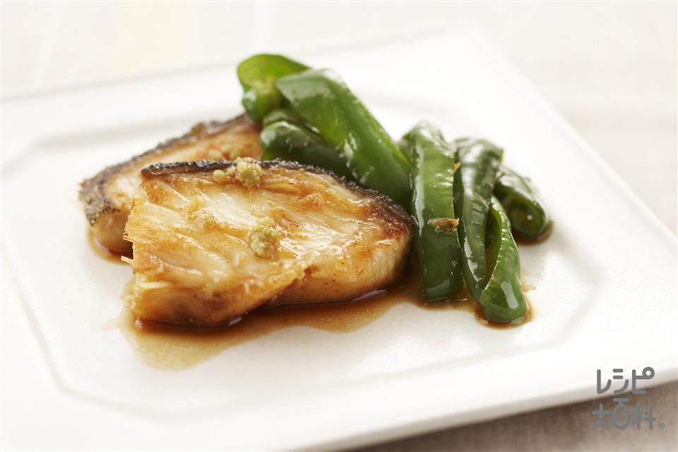 白身魚の照り焼き(まだらを使ったレシピ)