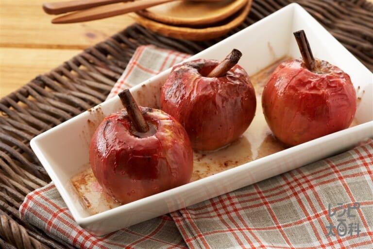 丸ごと焼きりんご