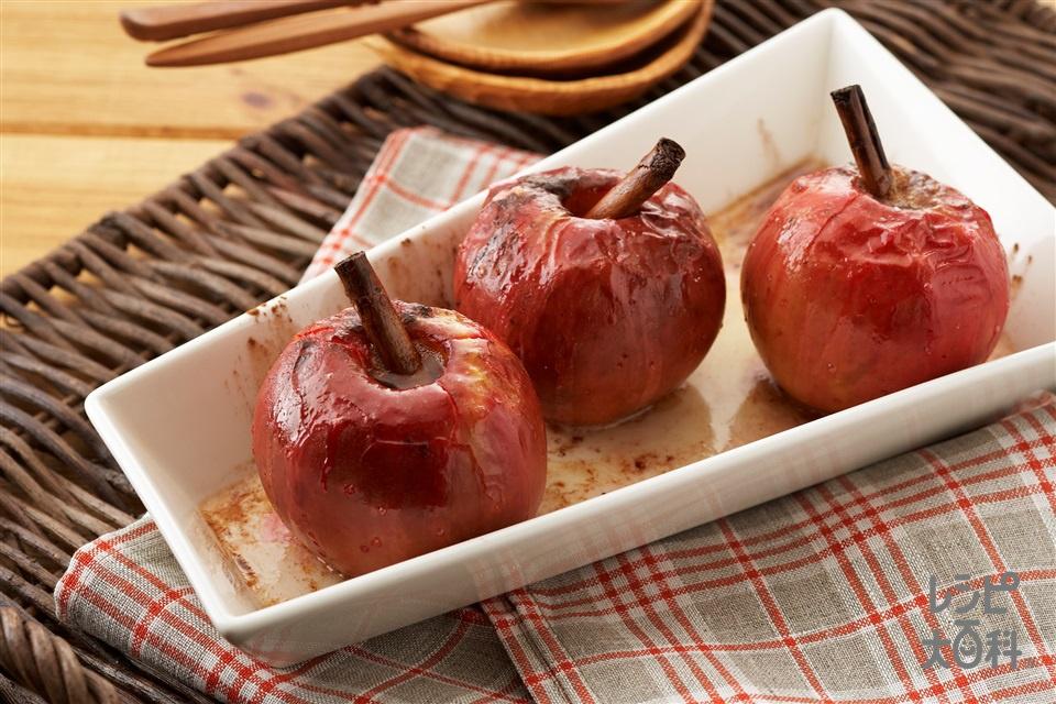 丸ごと焼きりんご(紅玉りんごを使ったレシピ)