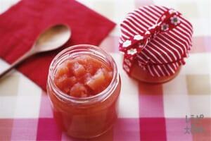 コロコロりんごのジャム(りんご+レモン汁を使ったレシピ)