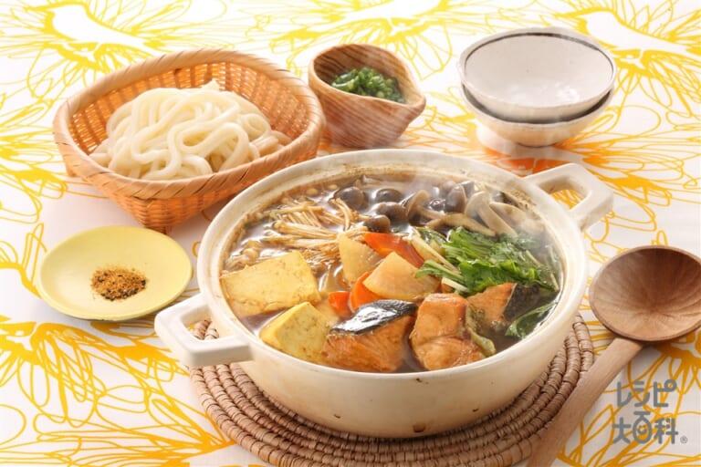 鮭カレー鍋