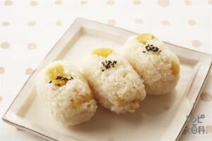 もち米でつくる栗ご飯