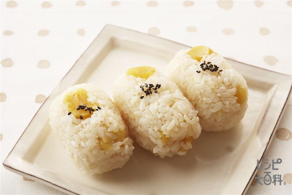 栗ご飯(栗+米を使ったレシピ)