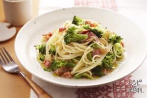 ブロッコリーのペペロンチーノ(ブロッコリー+スパゲッティを使ったレシピ)