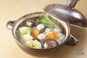 白菜漬け鍋