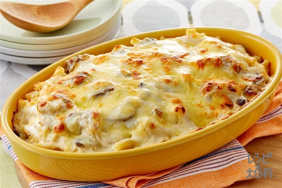マカロニグラタン(マカロニ+牛乳を使ったレシピ)