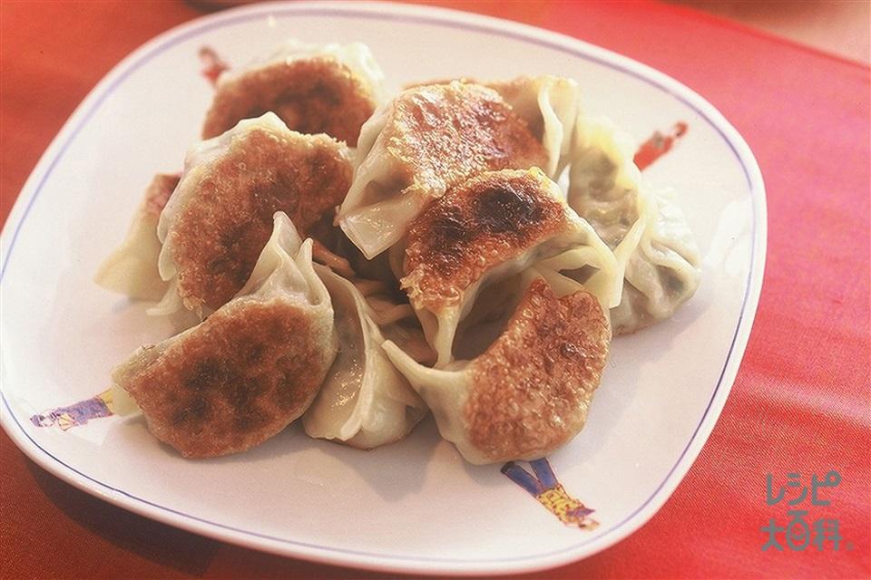 ギョーザ(豚ひき肉+キャベツを使ったレシピ)