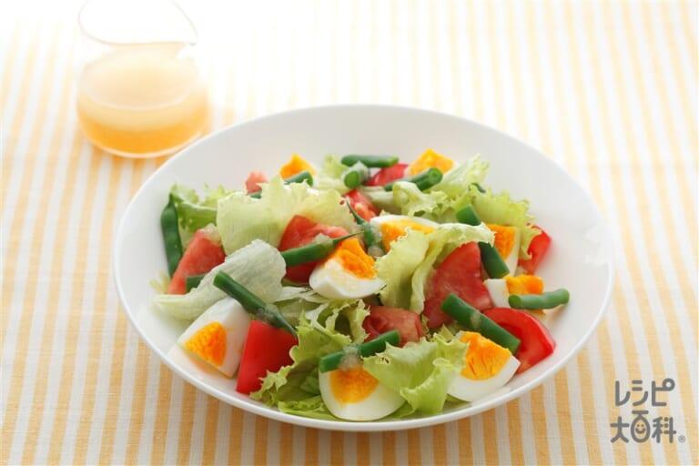卵の彩りサラダ