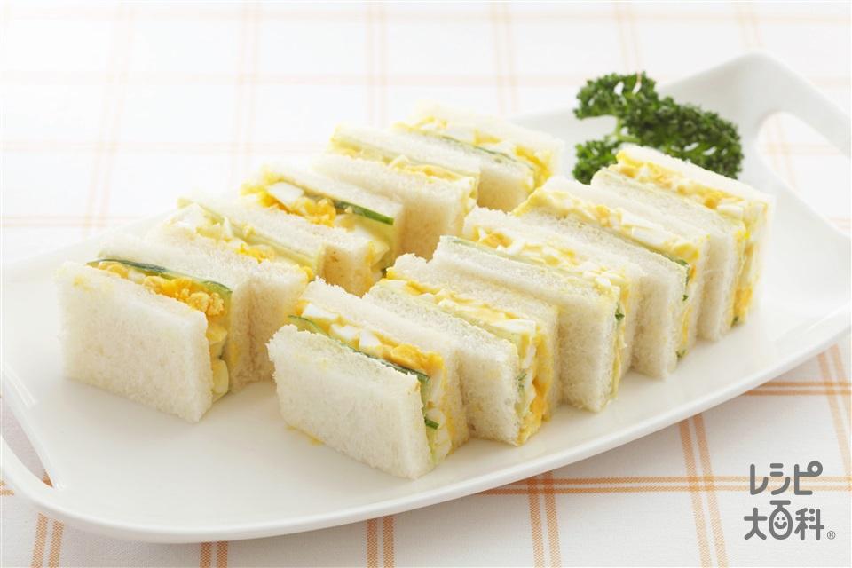 サンドイッチのレシピ・作り方