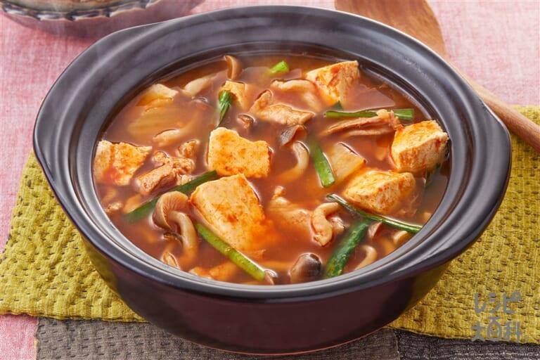 簡単豆腐チゲ