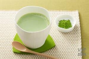 抹茶ミルク(牛乳+を使ったレシピ)